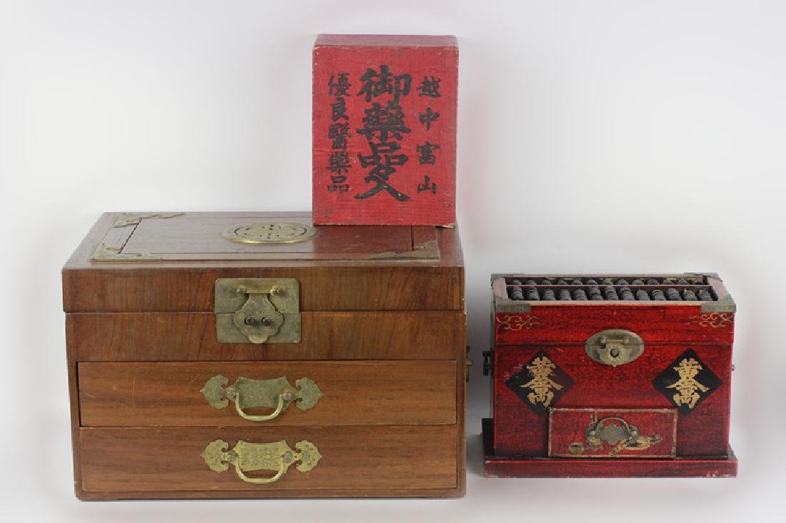 3 Chinese Boxes