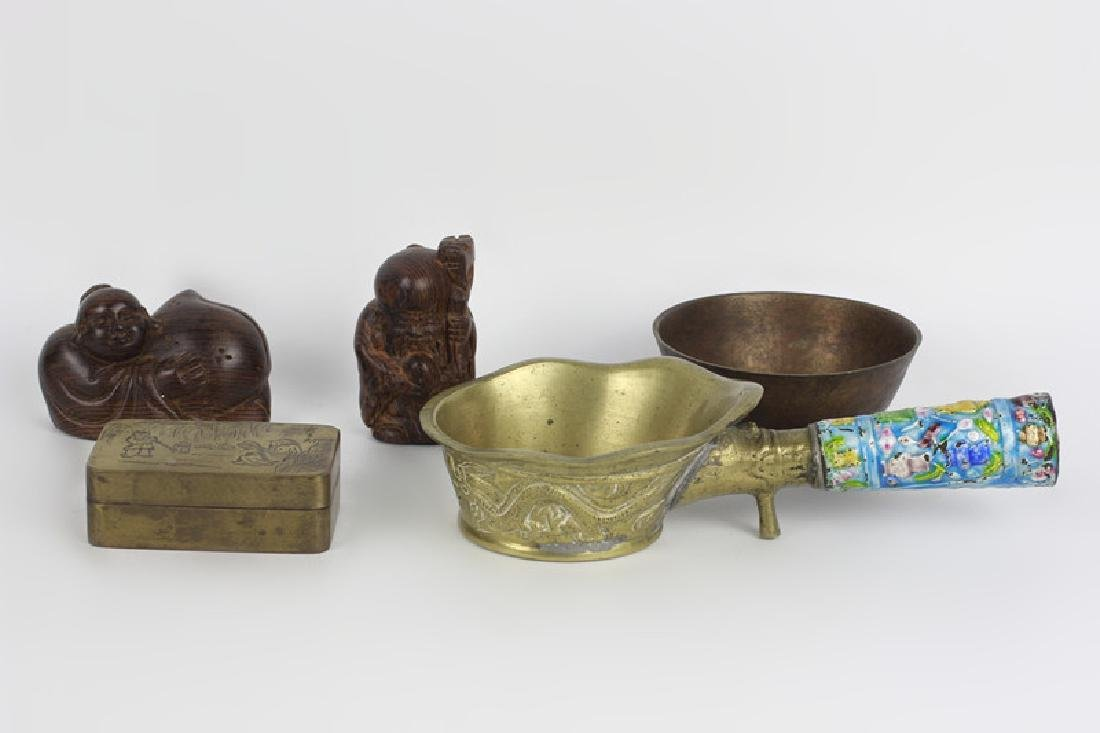 A Lot of 5 Chinese Items