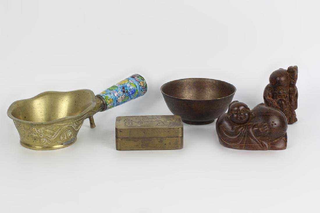 A Lot of 5 Chinese Items - 2