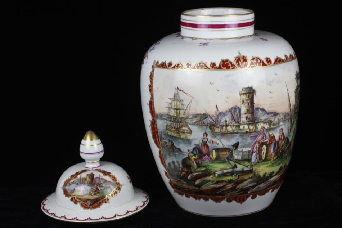 Large Vienna Covered Urn - 3