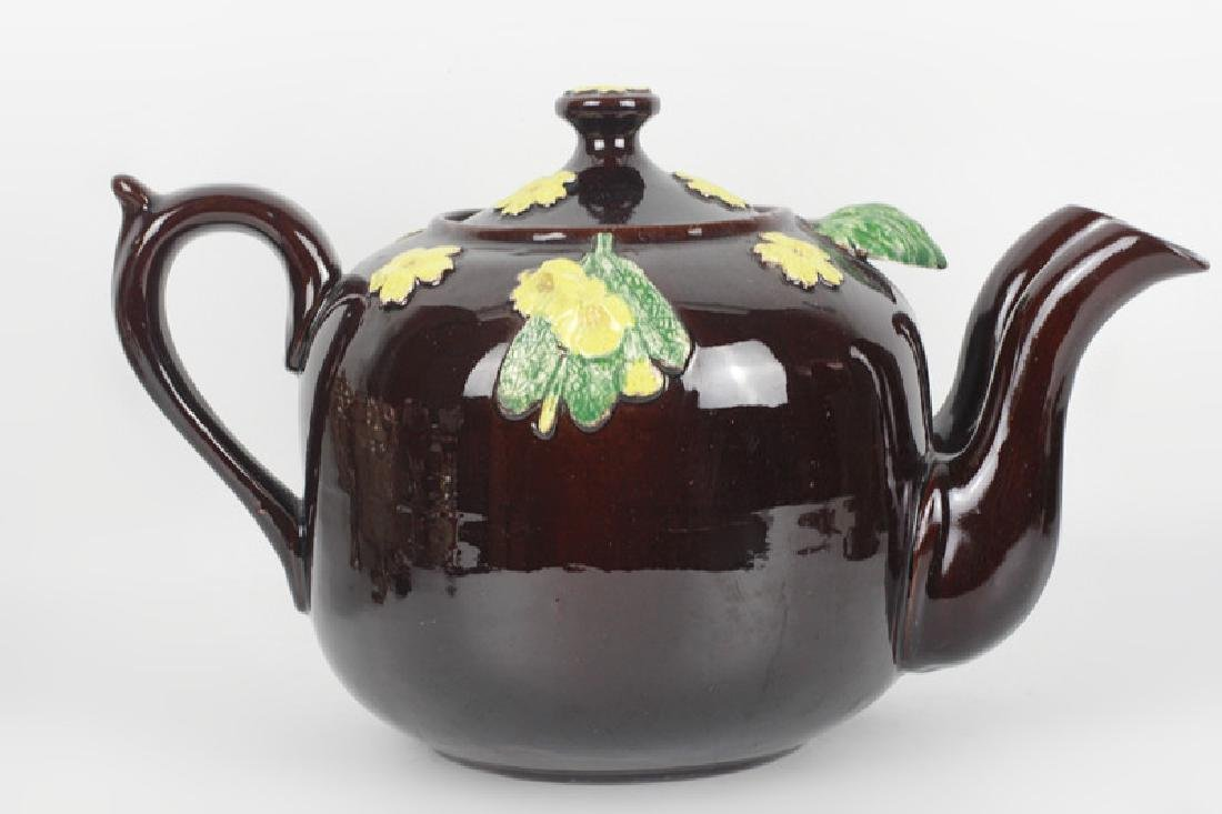 19thc English (Bargware) Double Spouted Coffeepot