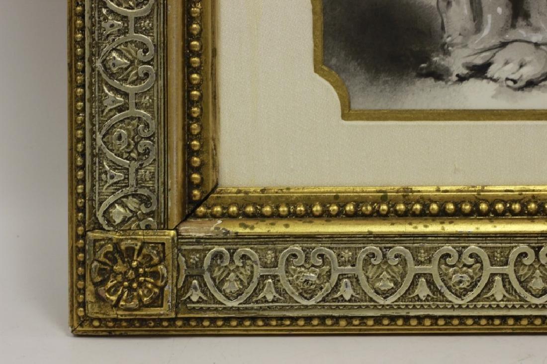 Late 19thc Large Porcelain Plaque - 5