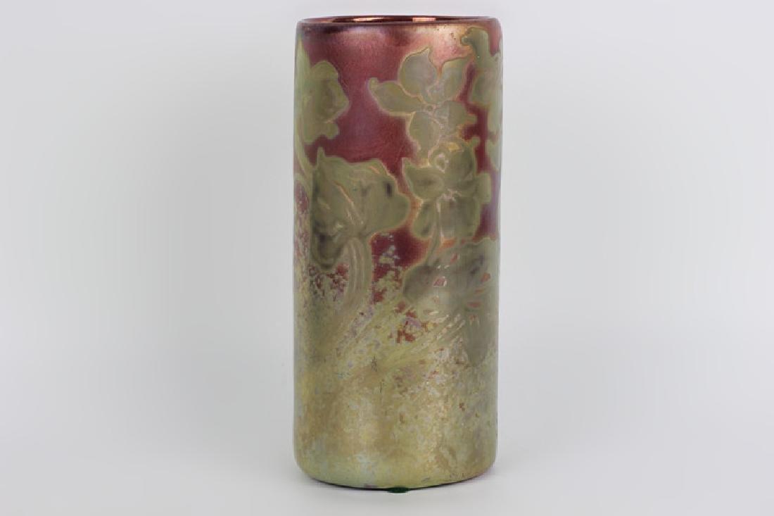 Weller Pottery Vase. Signed