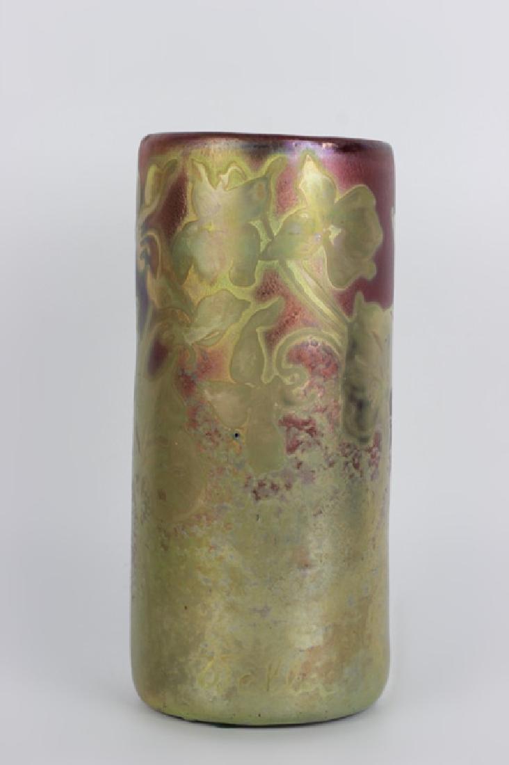 Weller Pottery Vase. Signed - 2