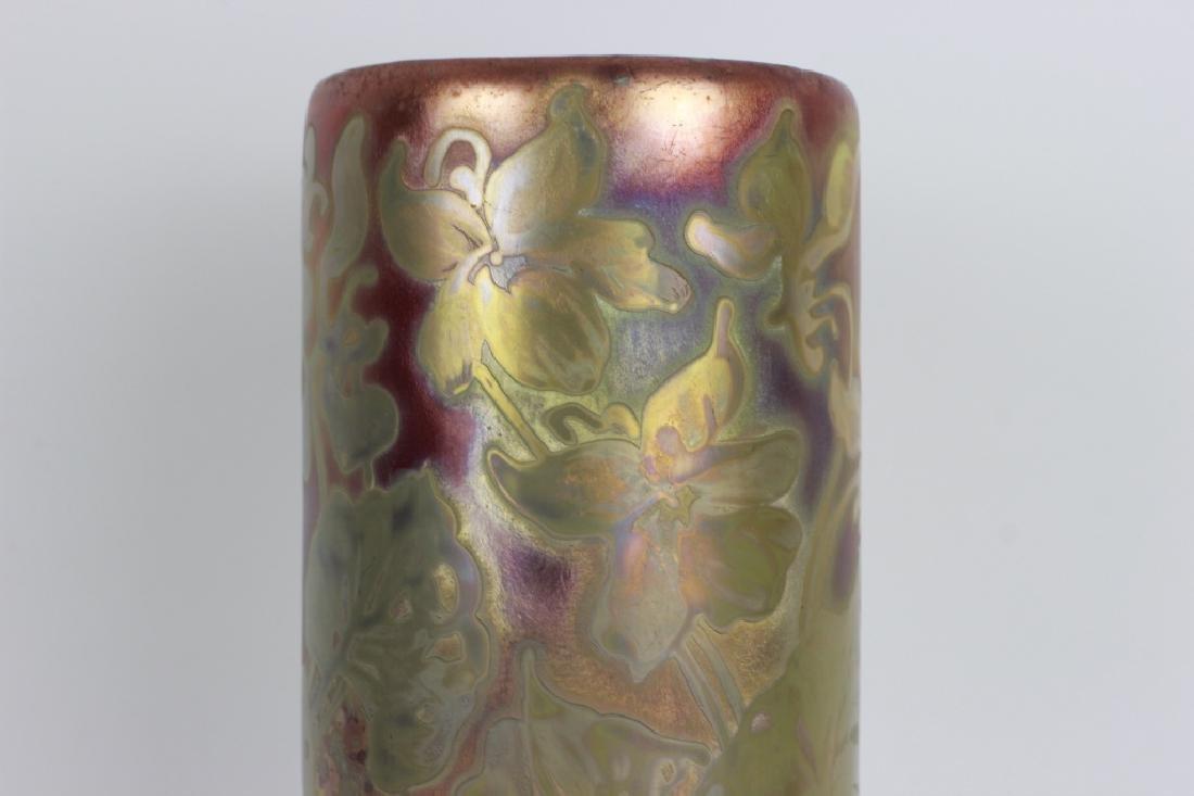Weller Pottery Vase. Signed - 5