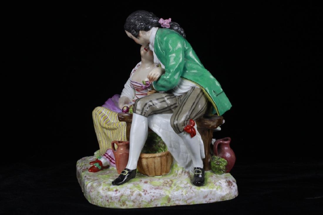 19thc Large Continental/Russian Porcelain Figure - 4