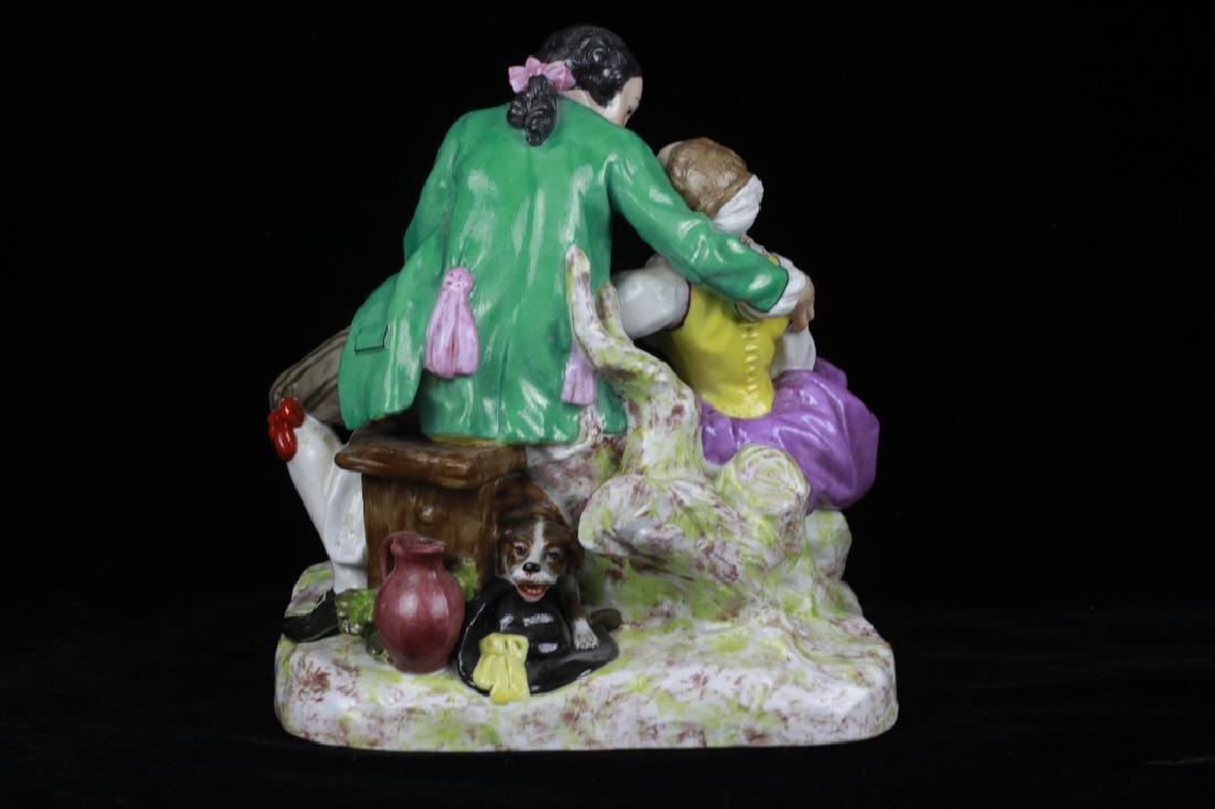 19thc Large Continental/Russian Porcelain Figure - 5