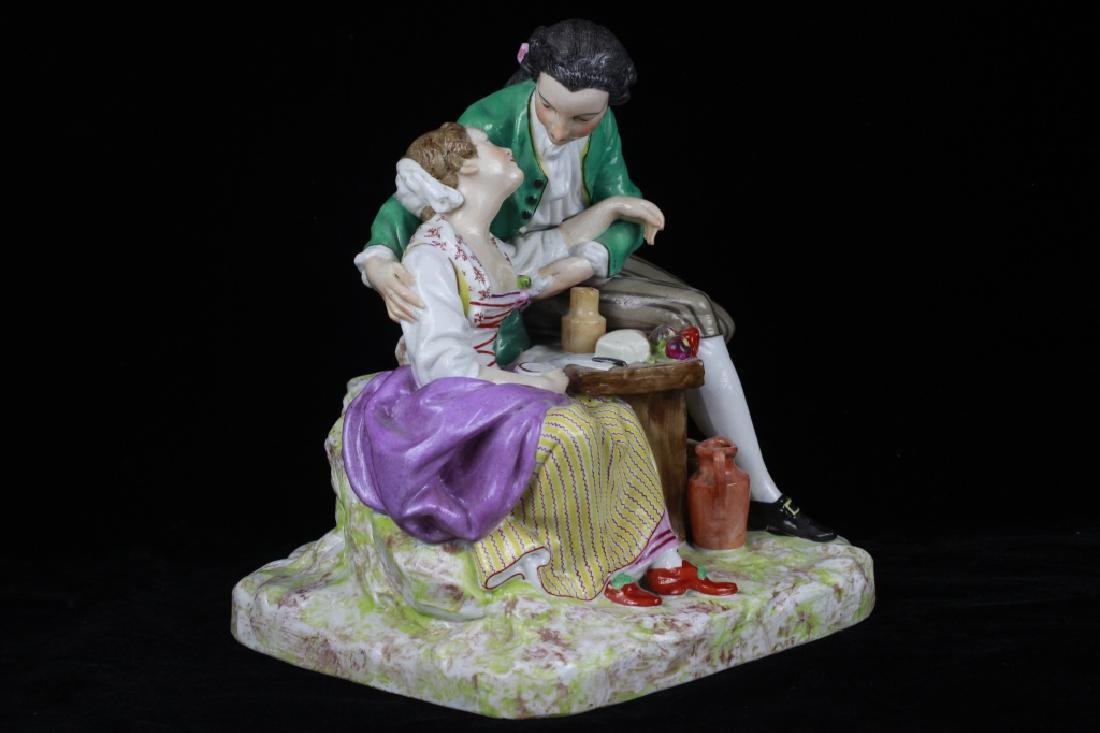 19thc Large Continental/Russian Porcelain Figure - 6