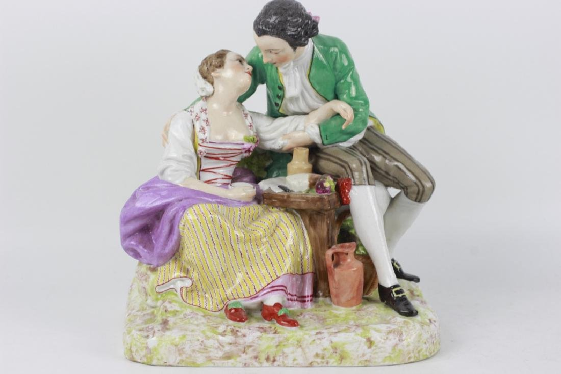 19thc Large Continental/Russian Porcelain Figure - 7