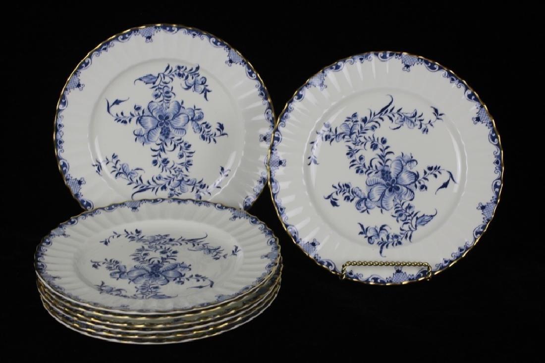Set of 8 Royal Worcester Plates