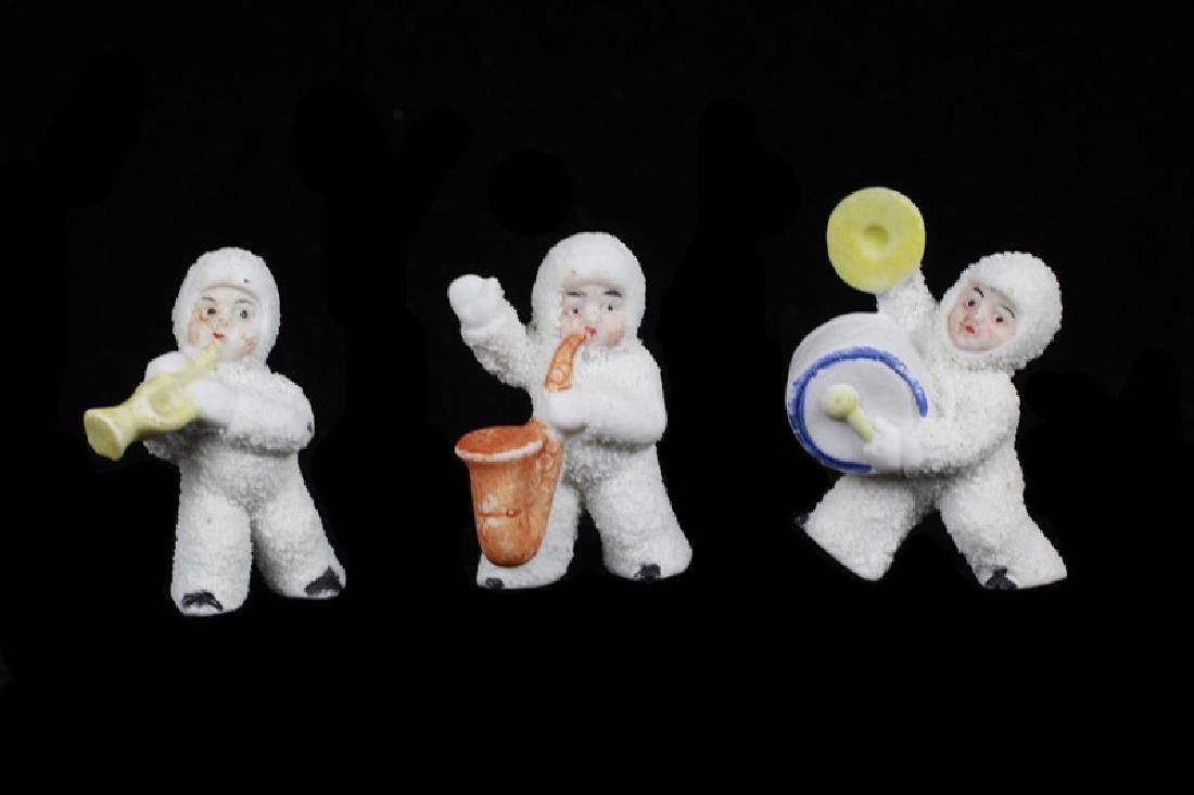 3 German Porcelain Snow Babies