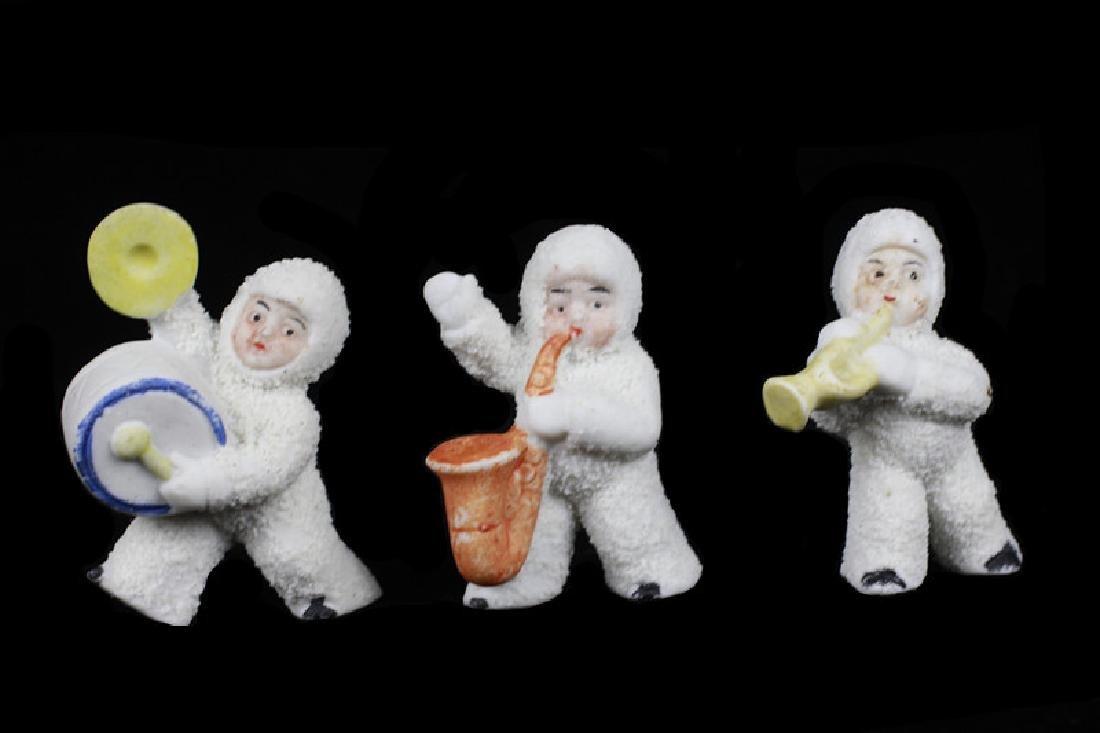 3 German Porcelain Snow Babies - 2