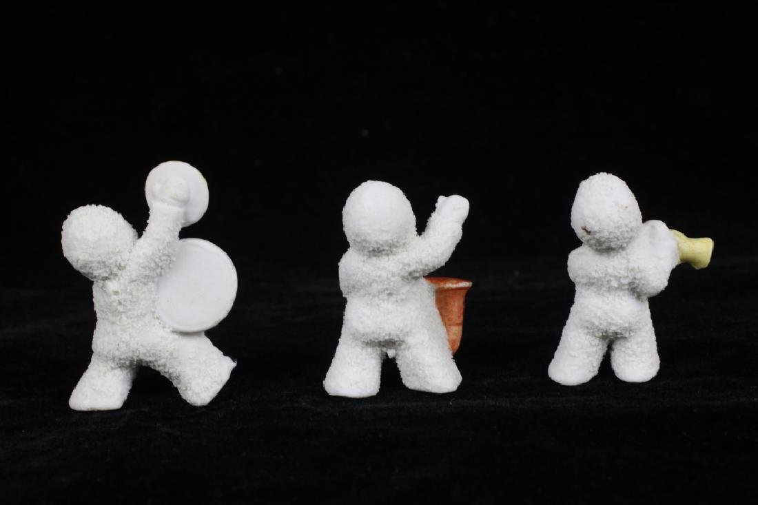 3 German Porcelain Snow Babies - 3