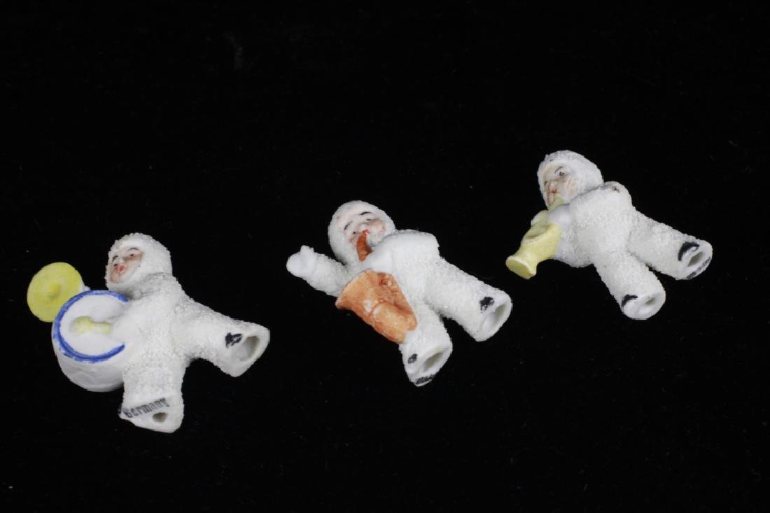 3 German Porcelain Snow Babies - 4