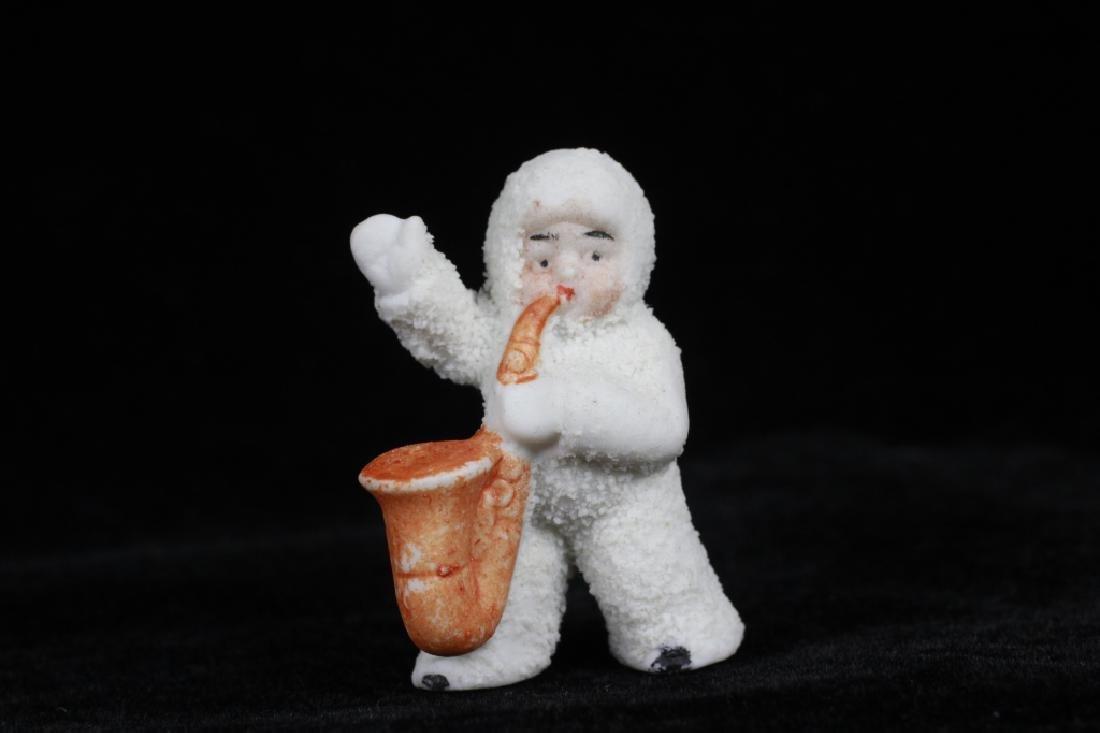 3 German Porcelain Snow Babies - 6