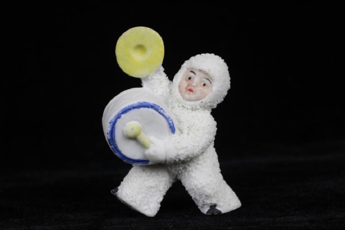 3 German Porcelain Snow Babies - 7