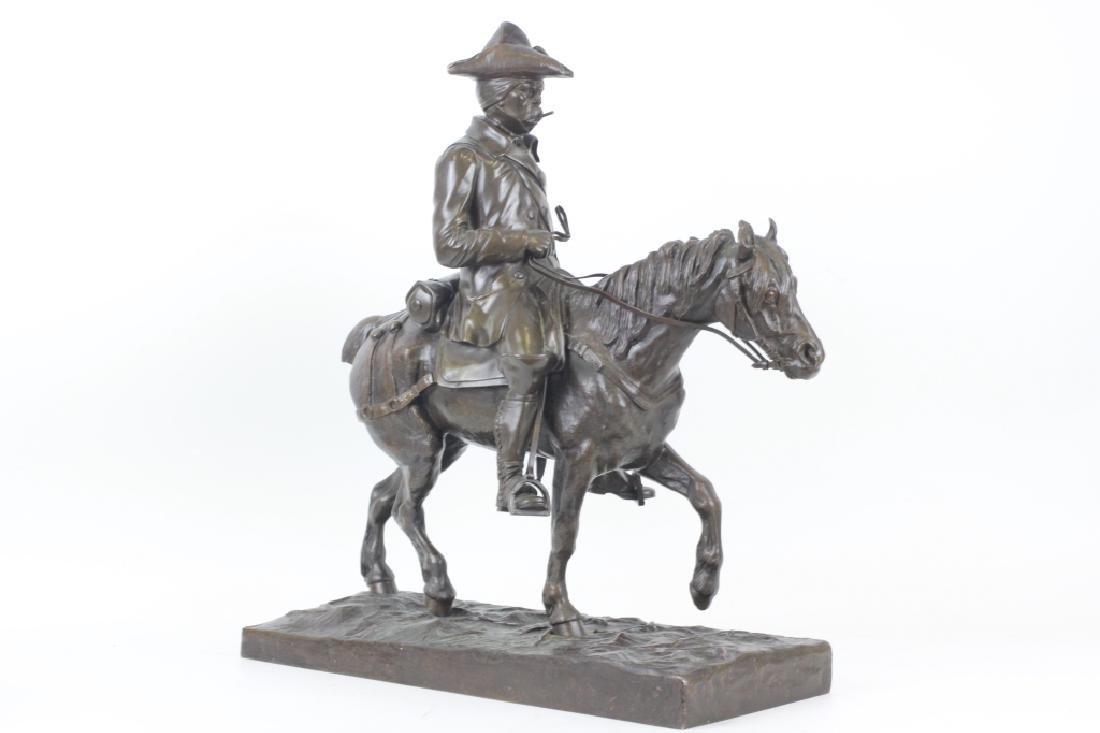Emmanuel de Sainte Colombe (1829-1886) Bronze