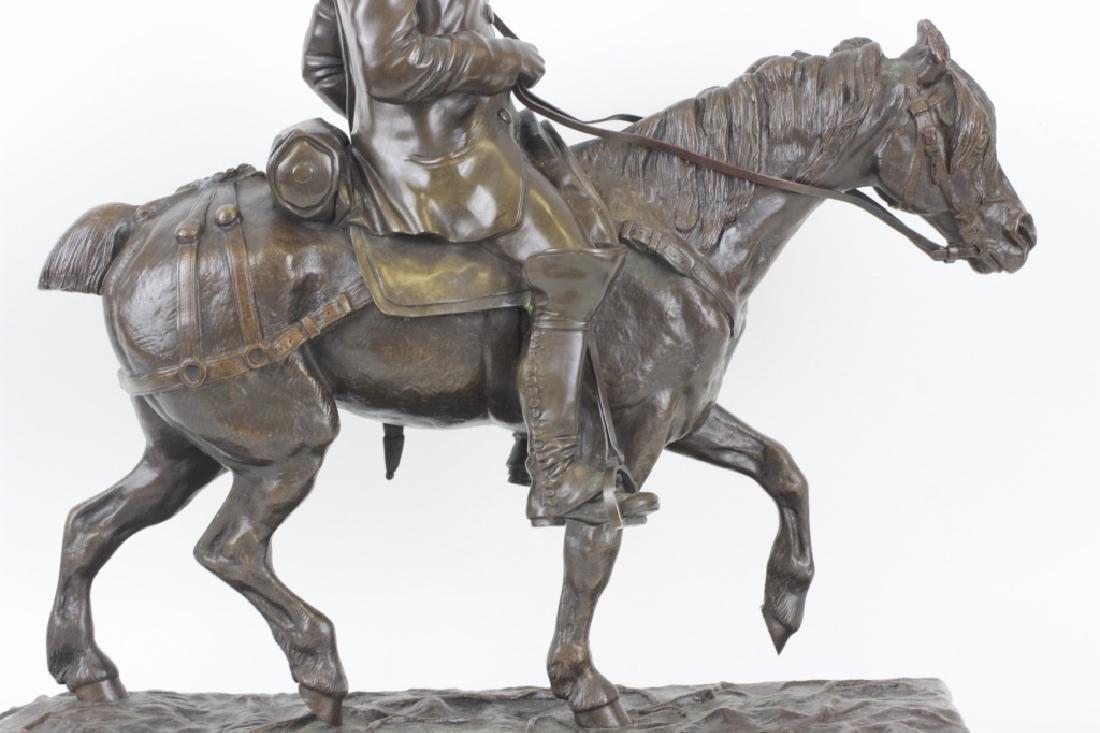 Emmanuel de Sainte Colombe (1829-1886) Bronze - 3
