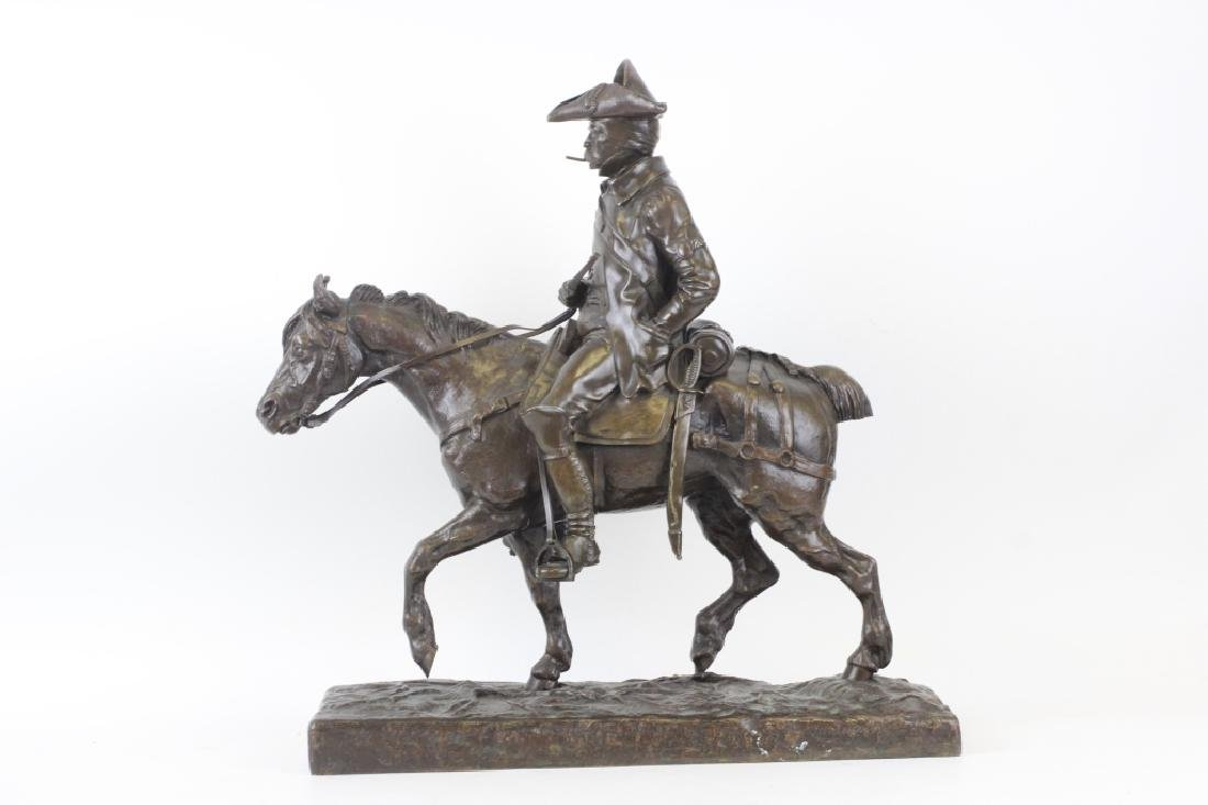 Emmanuel de Sainte Colombe (1829-1886) Bronze - 6