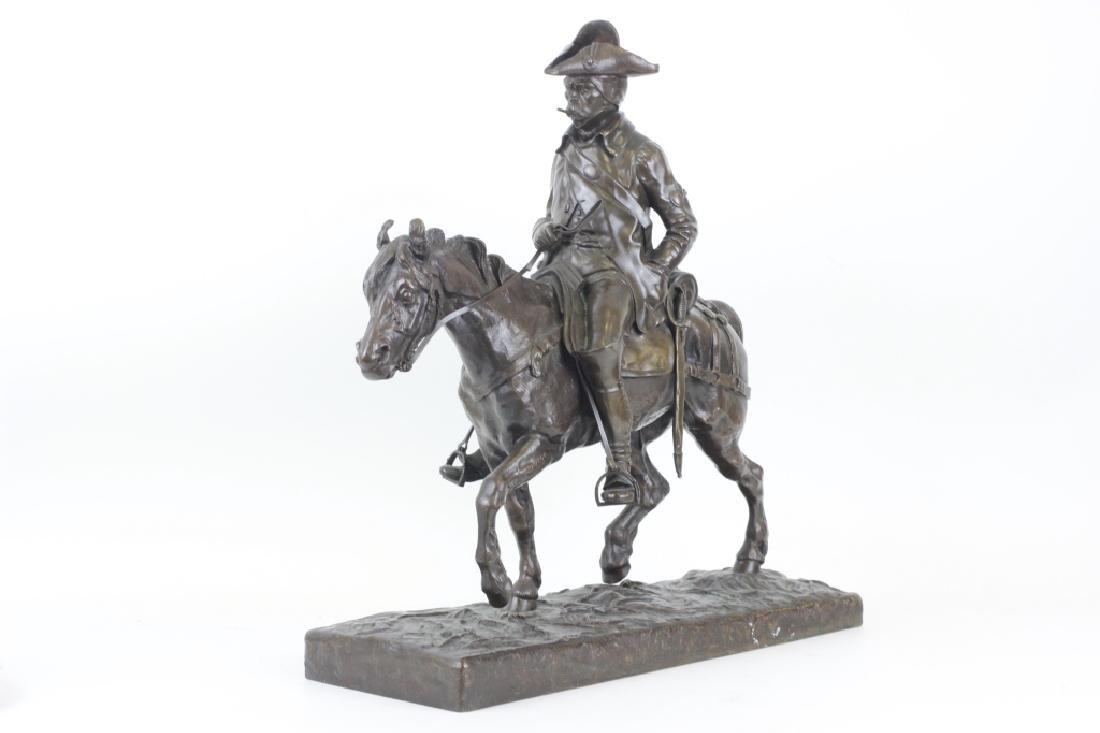 Emmanuel de Sainte Colombe (1829-1886) Bronze - 7