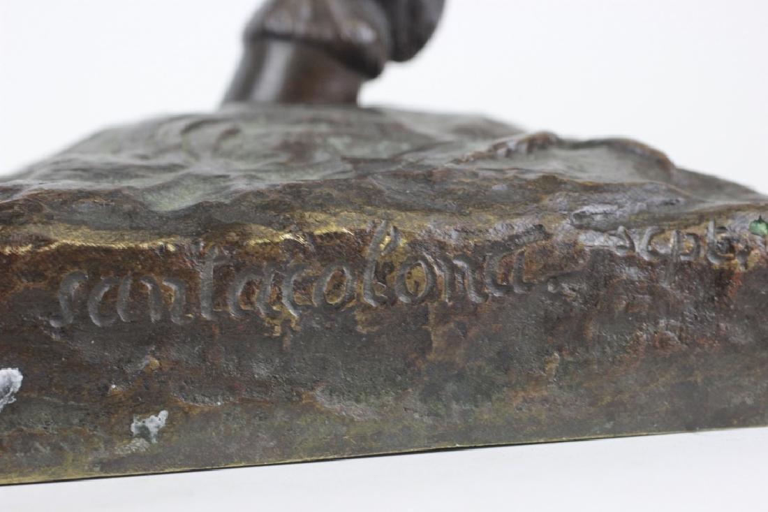 Emmanuel de Sainte Colombe (1829-1886) Bronze - 8