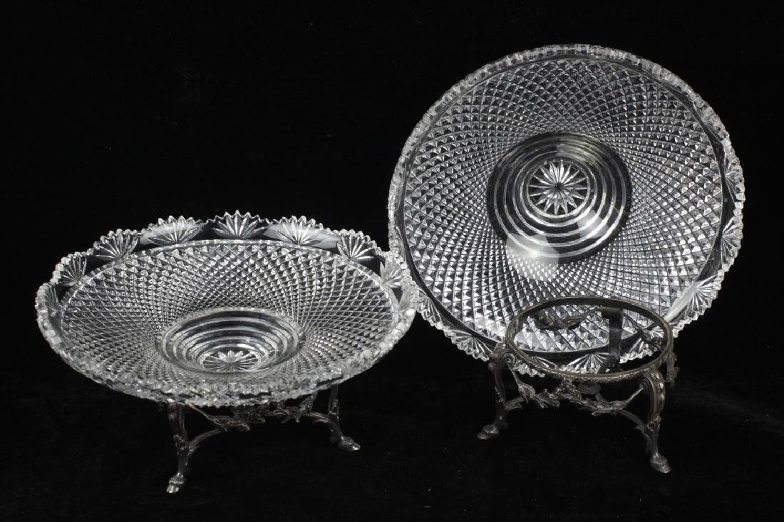 Pair of French Silver Odiot Compotes - 3