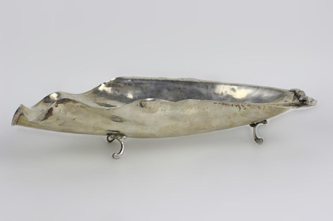 Cartier Sterling Silver Oblong Shape Footed Bowl - 6