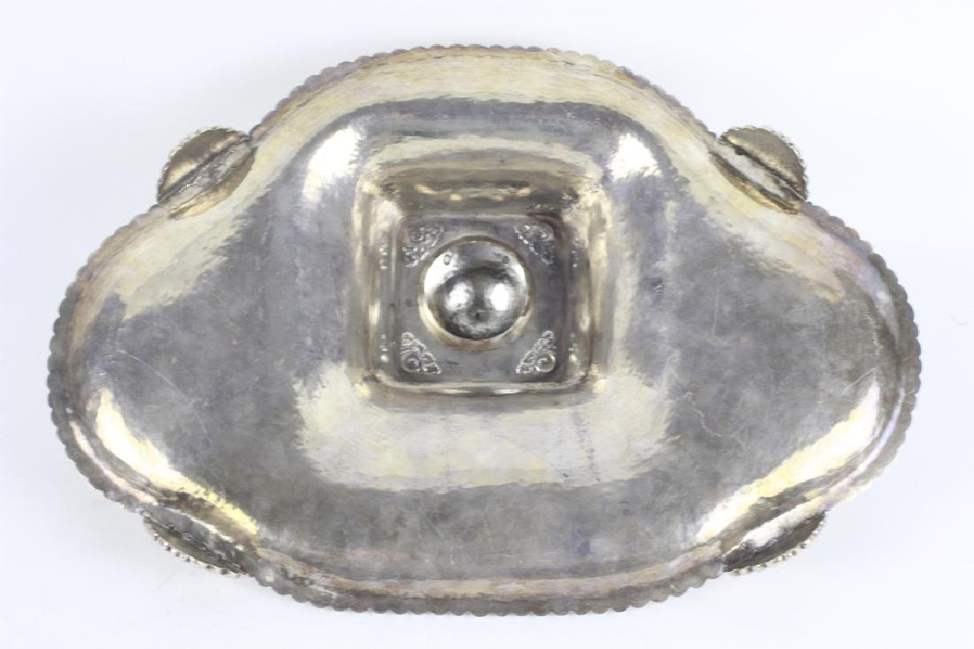 Sterling Silver Large Inkwell - 10