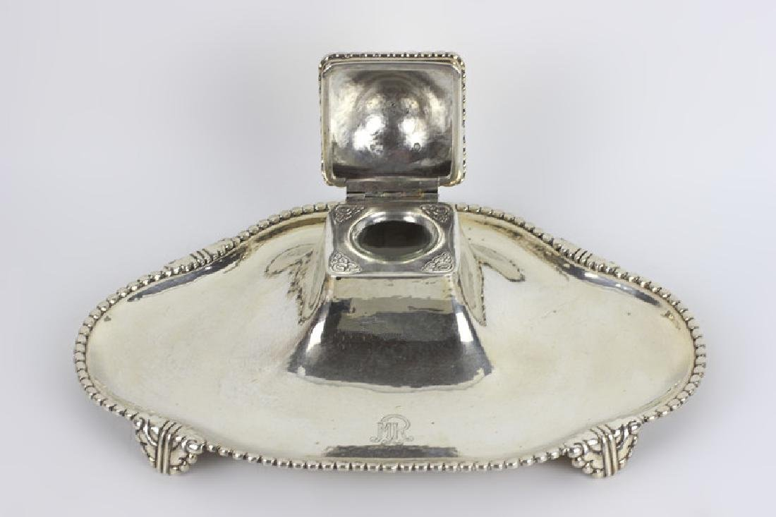 Sterling Silver Large Inkwell - 2