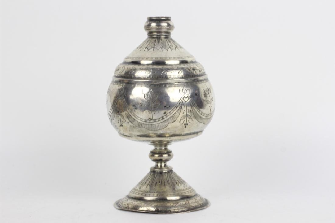 Early 19thc Silver Rosewater, Probably Continental - 3