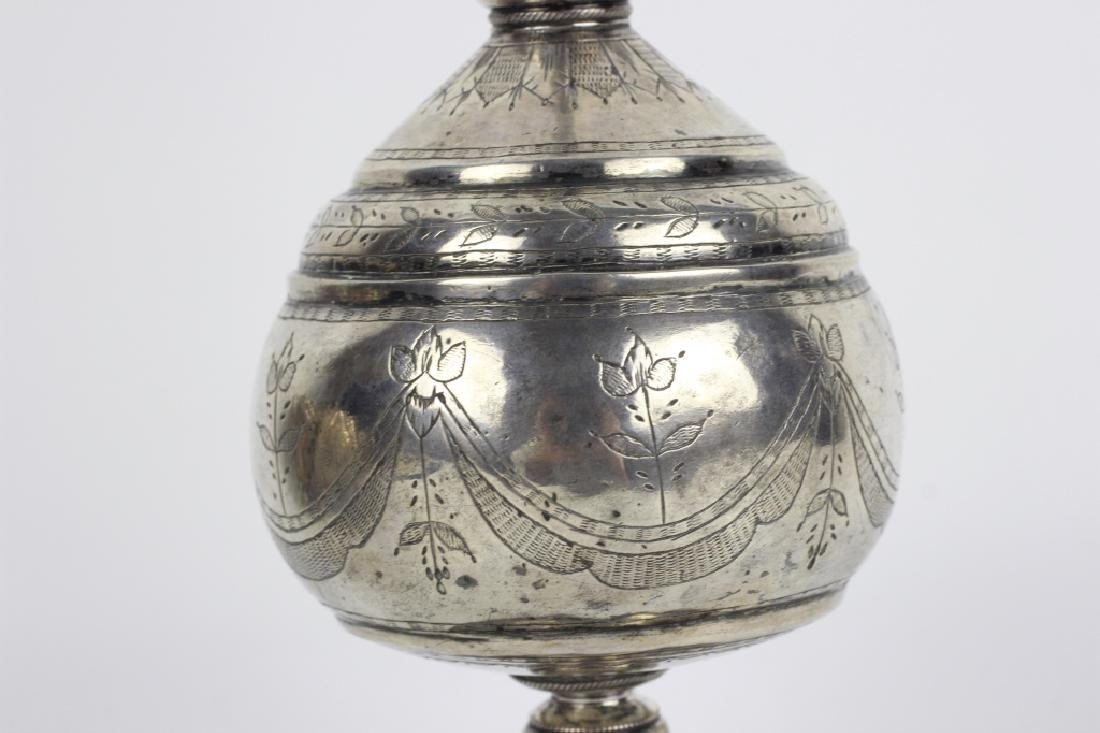 Early 19thc Silver Rosewater, Probably Continental - 6