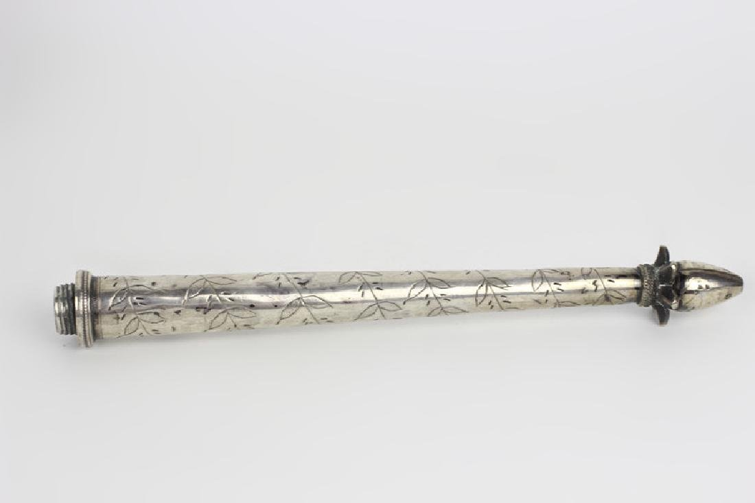 Early 19thc Silver Rosewater, Probably Continental - 8