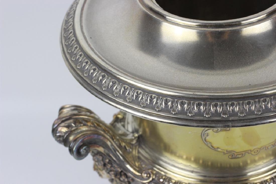 19thc German Silver Wine Cooler - 6
