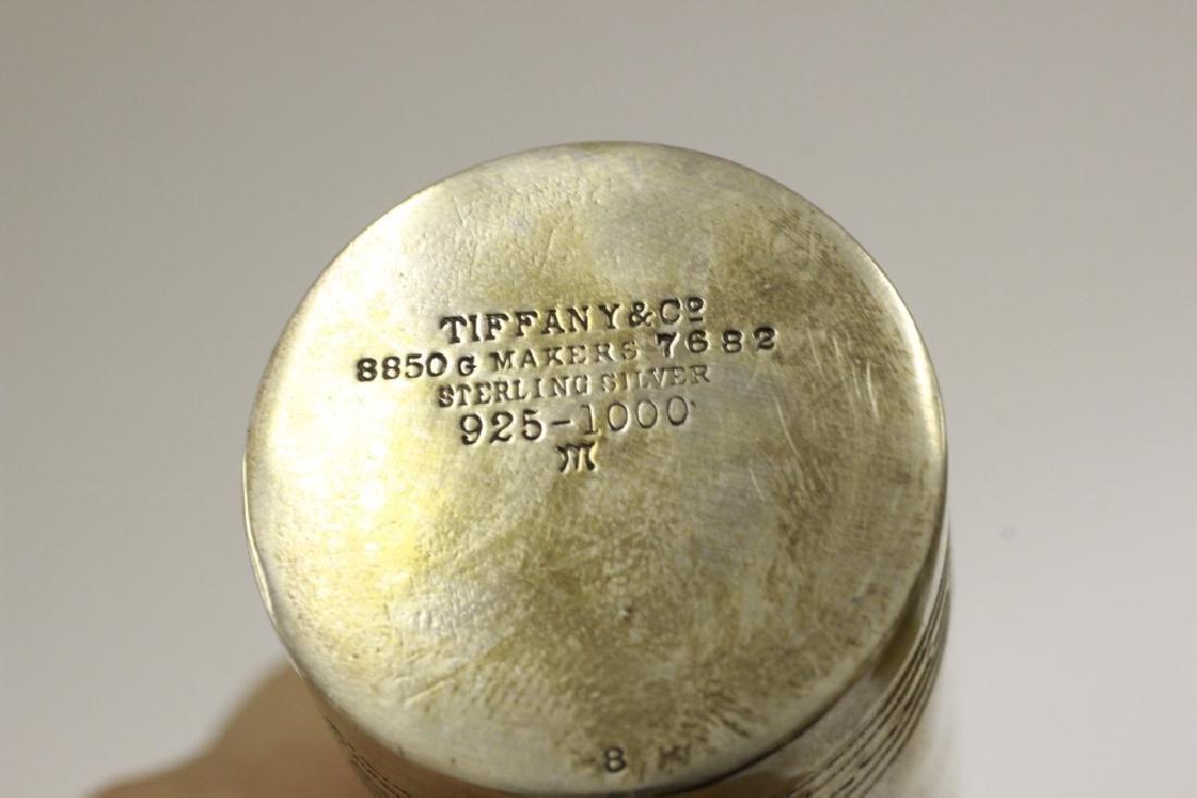 Rare 19thc Tiffany & Co. Makers Silver Vanity Set - 3