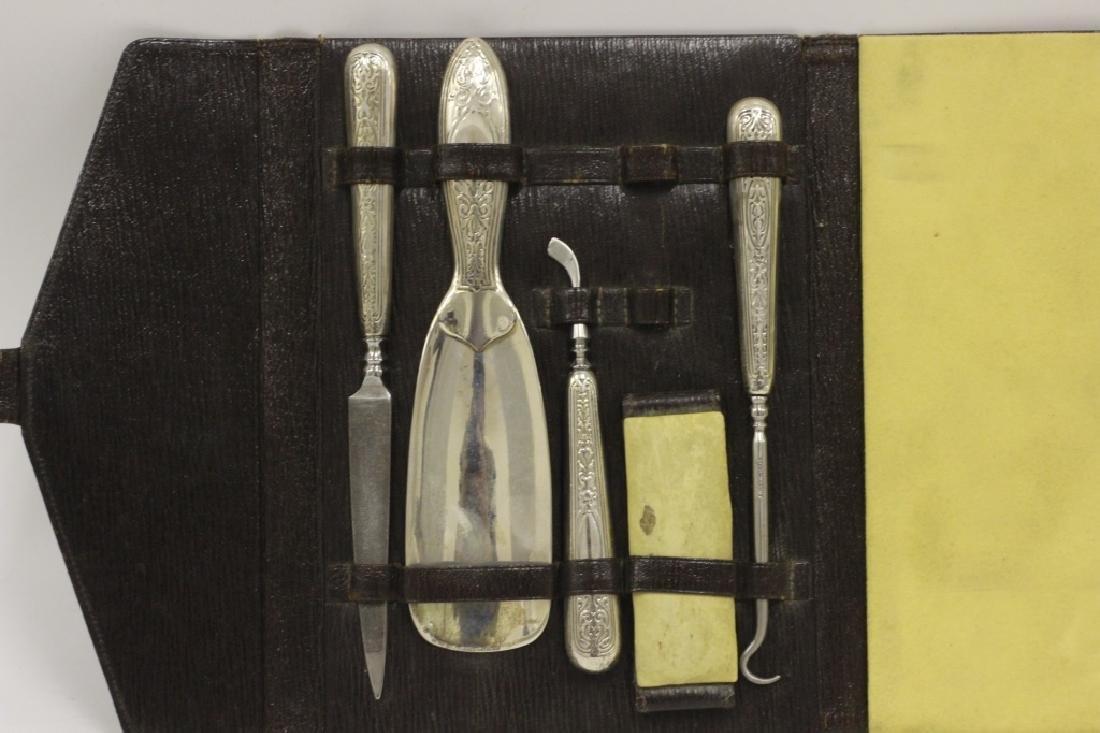 Rare 19thc Tiffany & Co. Makers Silver Vanity Set - 4