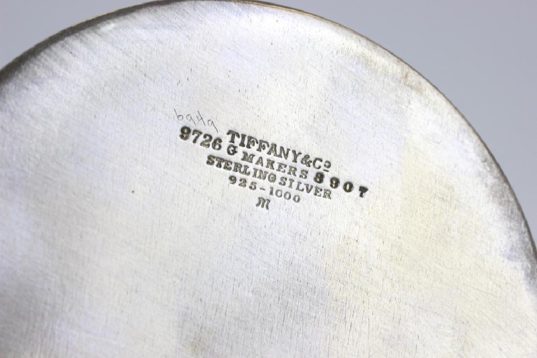 Rare 19thc Tiffany & Co. Makers Silver Vanity Set - 7