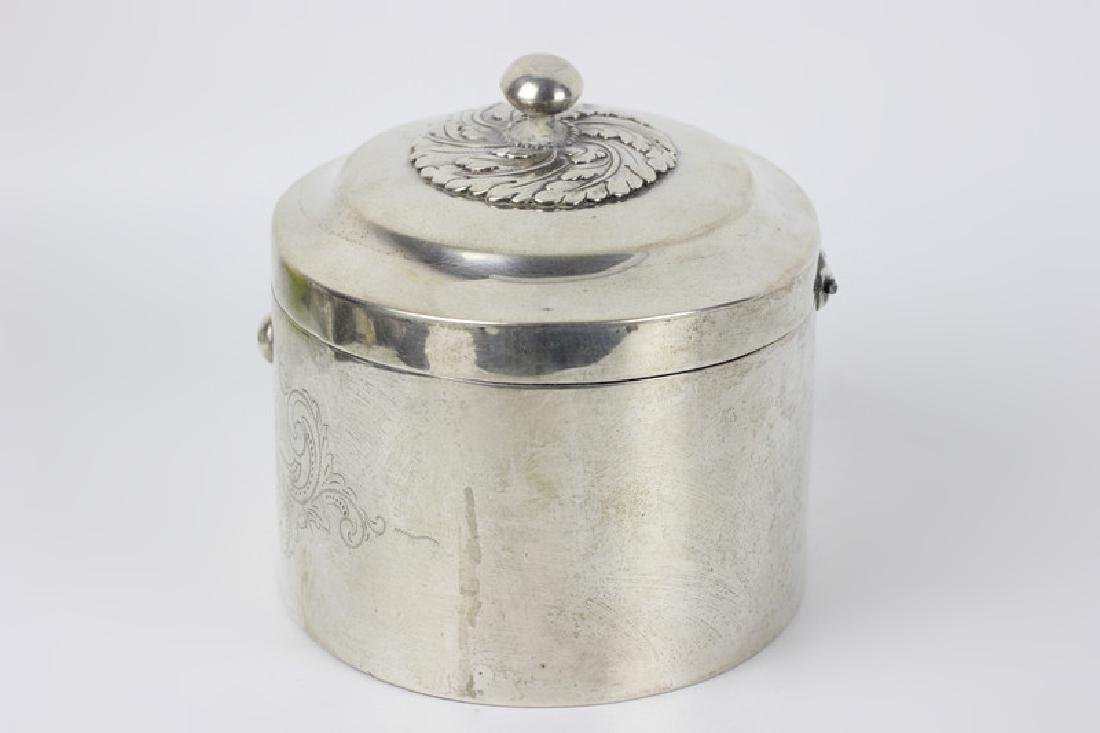 18thc German Silver  Dresden Box - 2