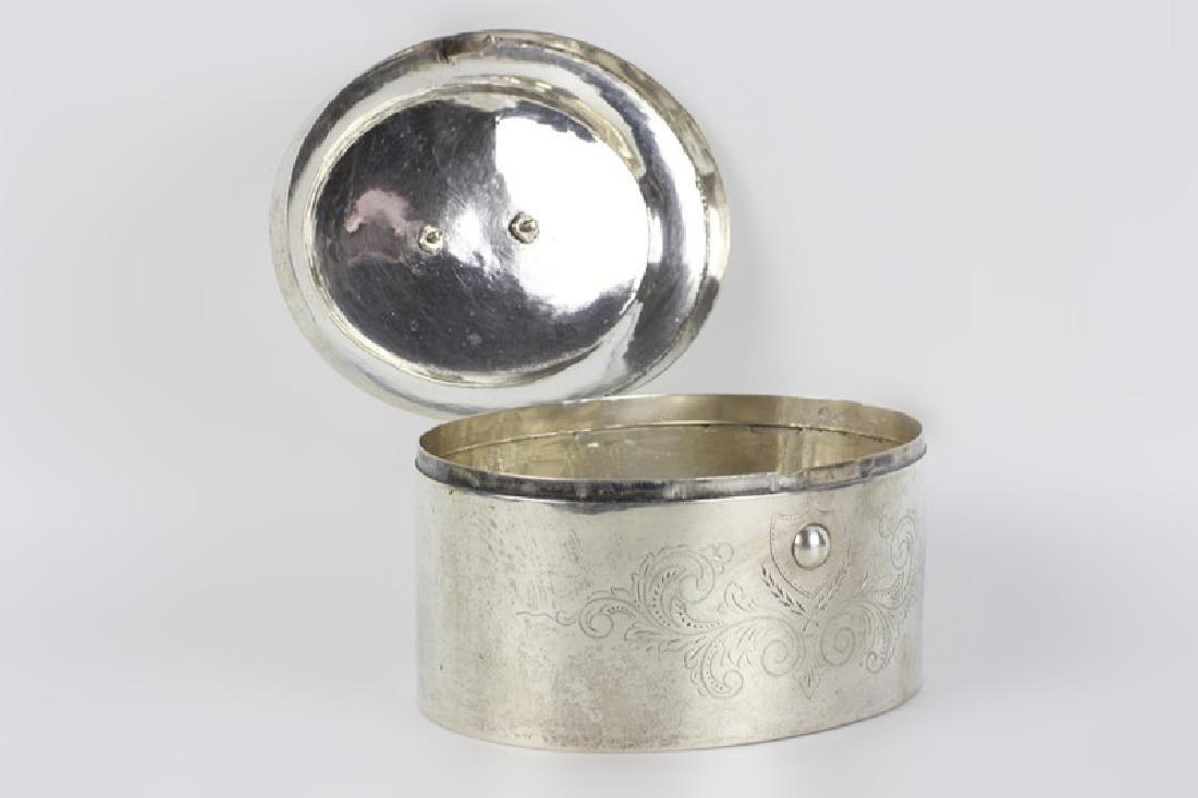 18thc German Silver  Dresden Box - 3