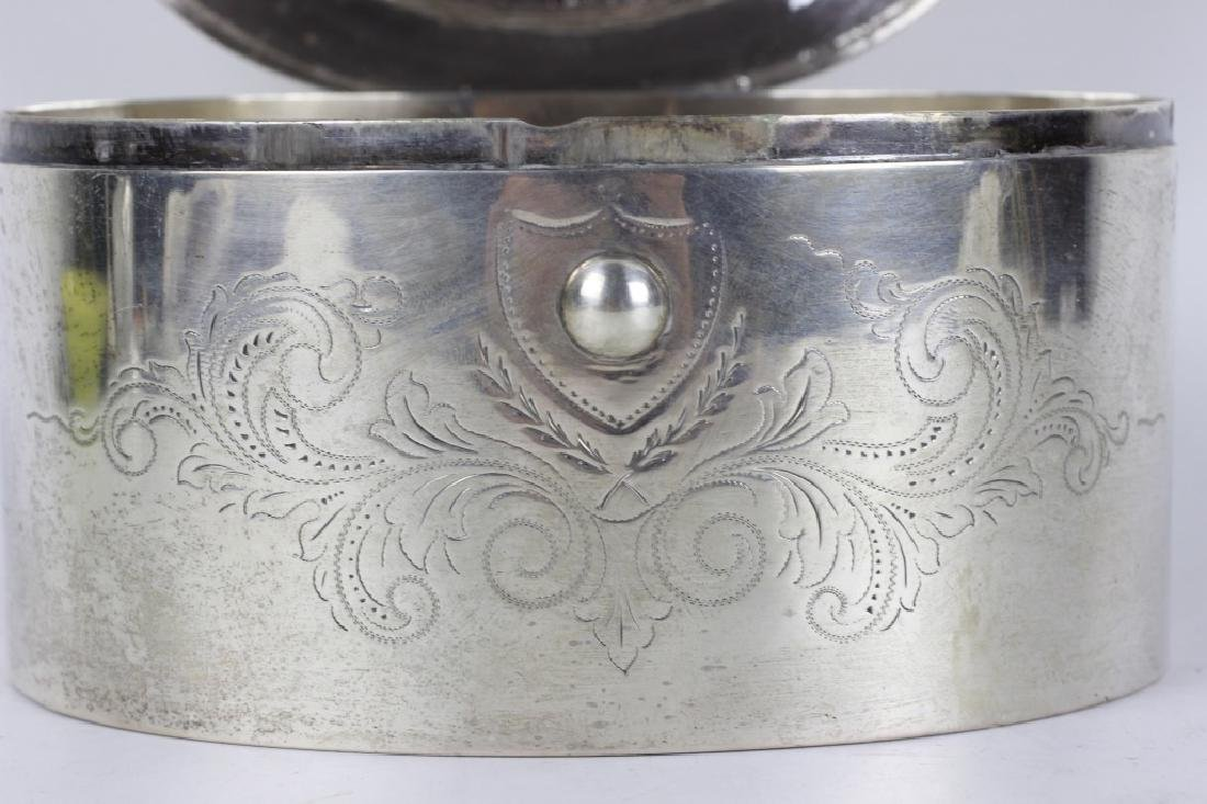 18thc German Silver  Dresden Box - 4