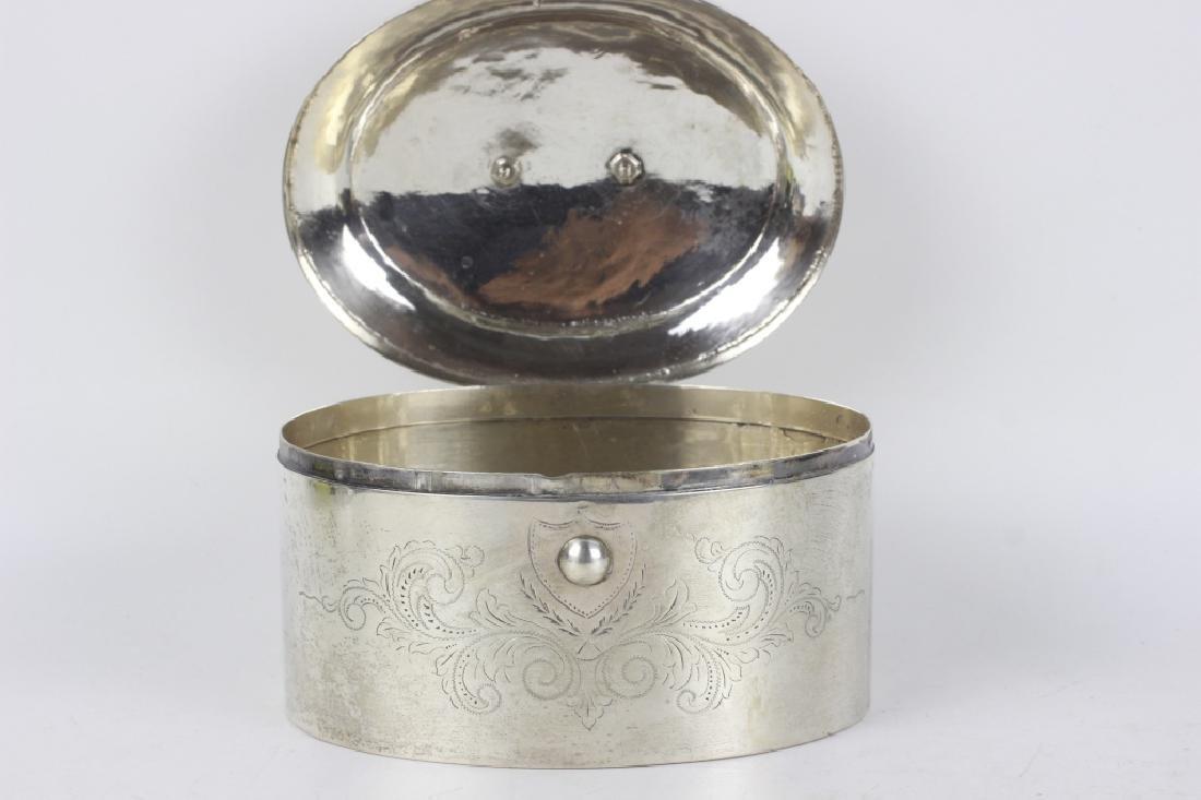 18thc German Silver  Dresden Box - 5