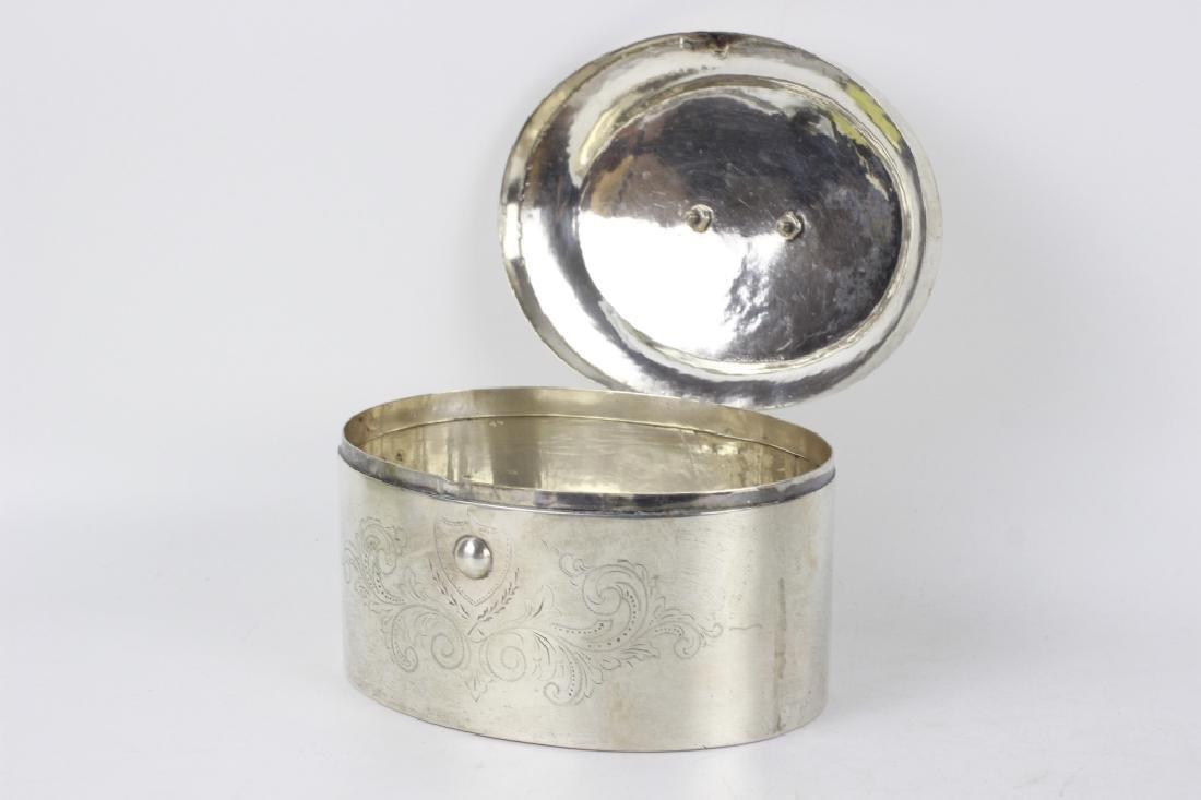 18thc German Silver  Dresden Box - 8