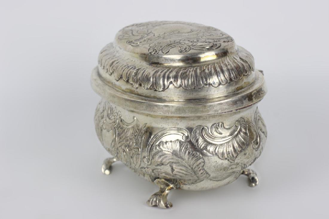 18thc German Berlin Silver Box - 2
