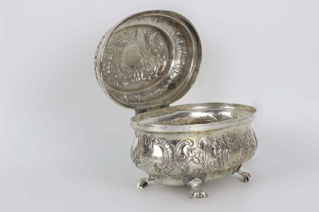 18thc German Berlin Silver Box - 3