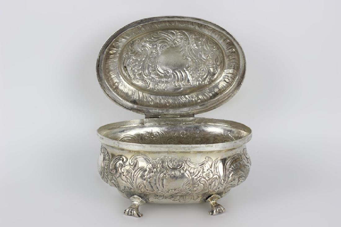 18thc German Berlin Silver Box - 5