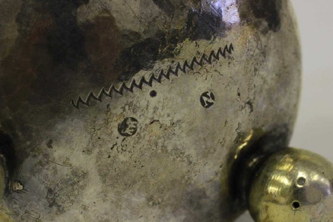 18thc Large German Nuremberg Silver Footed Cup. - 5