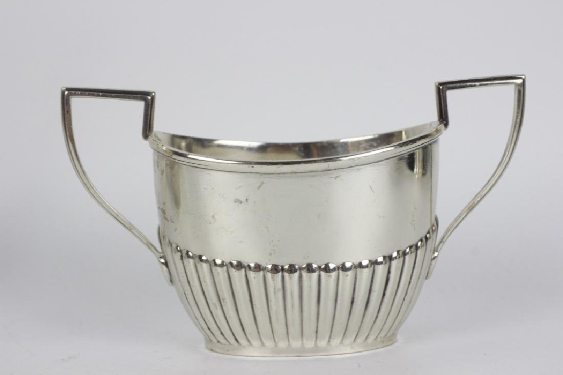 English Sterling Silver 3pc Coffee Set - 2