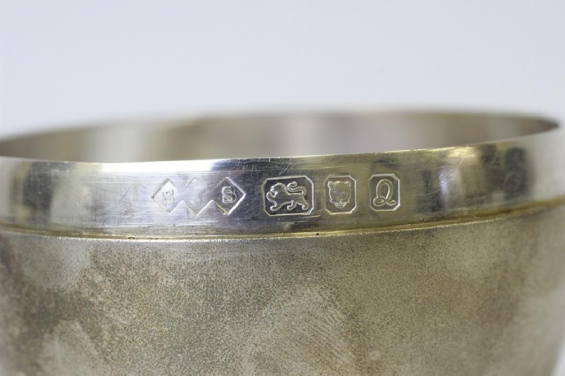 Unusual English Sterling Silver Apple Shape Box - 3
