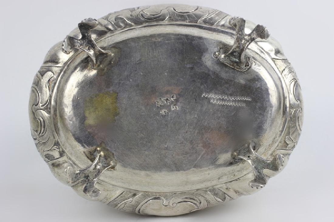 18thc Russian Silver Footed Box - 8