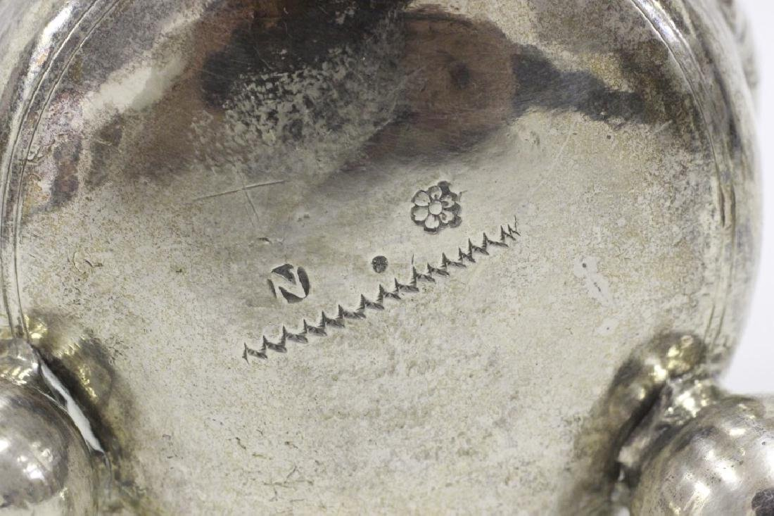 18thc Large German Nuremberg Silver Footed Cup - 8