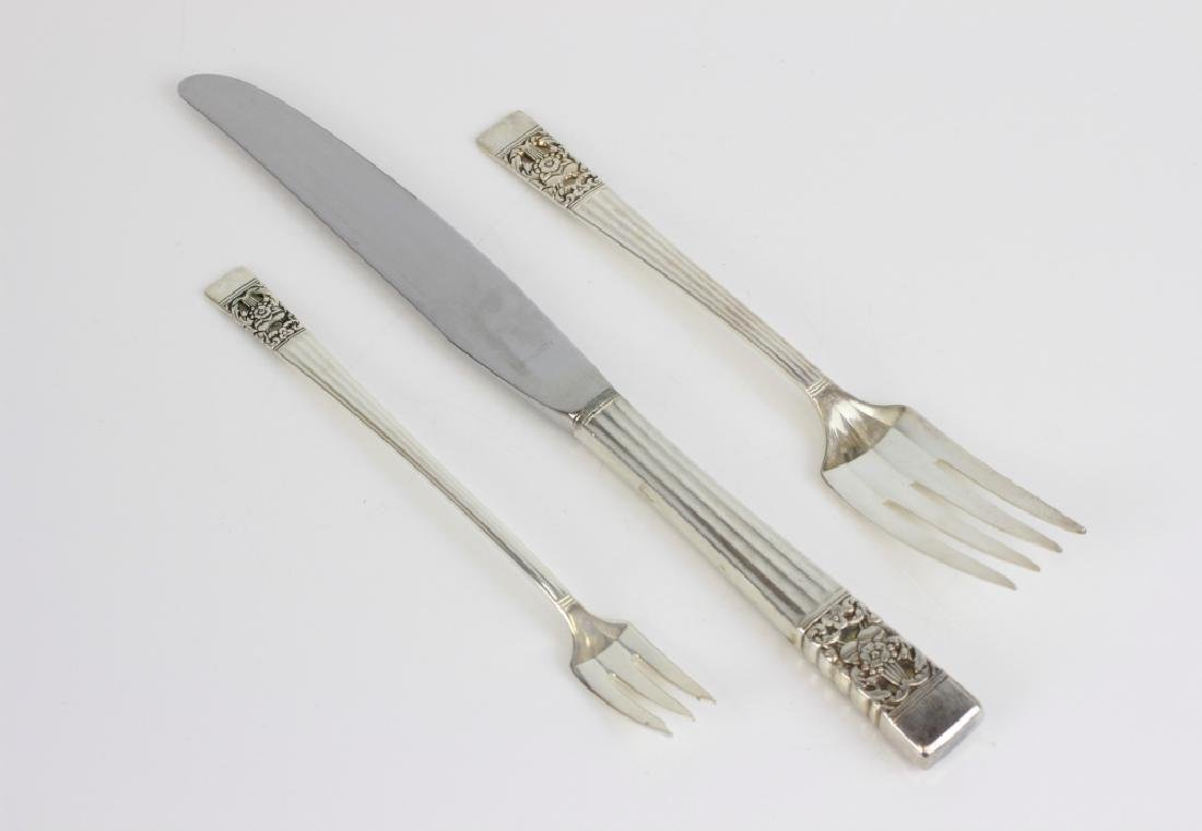 Set of Silver Plated Cutlery, Service for 12 - 3